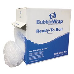 "Bubble Wrap� Cushion Bubble Roll, 1/2"" Thick, 12"" x 65ft"