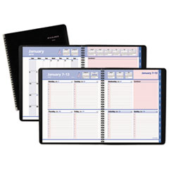 QuickNotes Weekly/Monthly Appointment Book, 8 x 9 7/8, Black/Pink, 2019