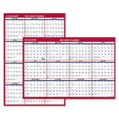 Vertical/Horizontal Wall Calendar, 24 x 36, 2019