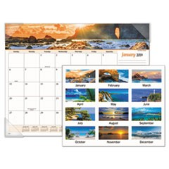 Seascape Panoramic Desk Pad, 22 x 17, 2019
