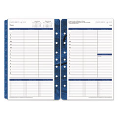 Monticello Dated Weekly/Monthly Planner Refill, 5 1/2 x 8 1/2, 2019