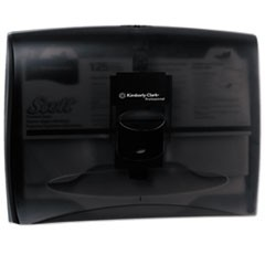 Personal Seat Cover Dispenser, 17.5 x 2.25 x 13.25, Black