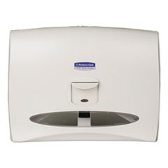 Personal Seat Toilet Seat Cover Dispenser, 17 1/2 x 2 1/4 x 13 1/4, White