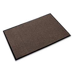 Rely-On Olefin Indoor Wiper Mat, 36 x 48, Walnut