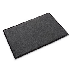 Rely-On Olefin Indoor Wiper Mat, 24 x 36, Charcoal