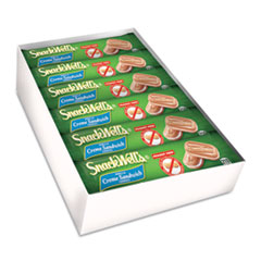 SnackWell's Cookies, Vanilla Cr�me, 1.7 oz Pack, 48/Carton