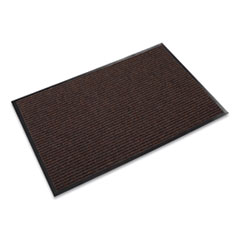 Needle Rib Wipe and Scrape Mat, Polypropylene, 48 x 72, Brown