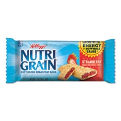 Nutri-Grain Soft Baked Breakfast Bars, Strawberry, Indv Wrapped 1.3 oz Bar, 16/Box