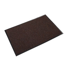 Needle Rib Wipe and Scrape Mat, Polypropylene, 36 x 60, Brown