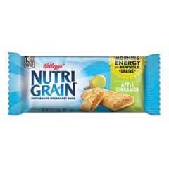 Nutri-Grain Soft Baked Breakfast Bars, Apple-Cinnamon, Indv Wrapped 1.3 oz Bar, 16/Box