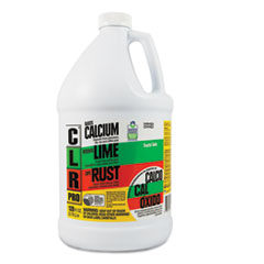Calcium, Lime and Rust Remover, 1 gal Bottle, 4/Carton