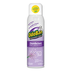 Odor Eliminator and Disinfectant, Lavender, 14.6 oz, 12/Carton