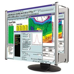 "LCD Monitor Magnifier Filter, Fits 19""-20"" Widescreen LCD, 16:10 Aspect Ratio"