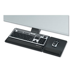Designer Suites Premium Keyboard Tray, 19w x 10.63d, Black