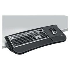 Tilt 'n Slide Keyboard Manager, 19-1/2w x 11-7/8d, Black