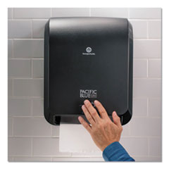1Pacific Blue Ultra Paper Towel Dispenser, Automated, 12.9 x 9 x 16.8, Black