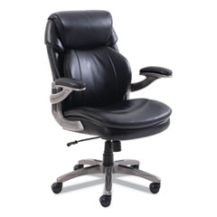 Cosset Mid-Back Executive Chair, Black