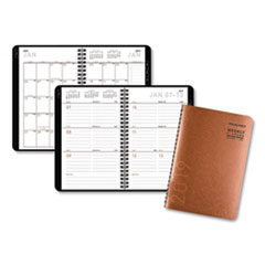 Contemporary Desk Weekly/Monthly Appointment Book, 5 3/4 x 8 3/8, 2019