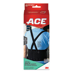 Work Belt with Removable Suspenders, One-Size Adjustable, Black