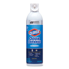 Commercial Solutions Odor Defense, Clean Air Scent, 14 oz Aerosol