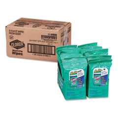 Disinfecting Wipes On The Go, Fresh Scent, 7 x 8, 9/Each, 12/Pack