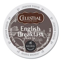 English Breakfast Black Tea K-Cups, 96/Carton