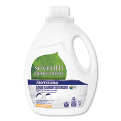 Liquid Laundry Detergent, Free and Clear, 66 loads, 100oz Bottle
