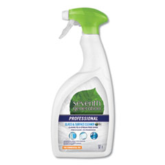Glass and Surface Cleaner, Free and Clear, 32 oz Spray Bottle