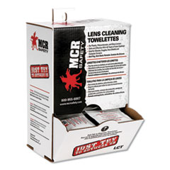 Lens Cleaning Towelettes, 100/Box, 10 Boxes/Carton