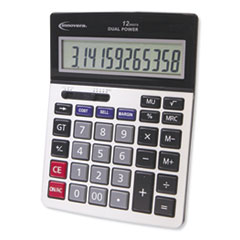 15968 Profit Analyzer Calculator, Dual Power, 12-Digit LCD Display