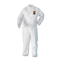 A20 Breathable Particle Protection Coveralls, Zip Closure, 2X-Large, White