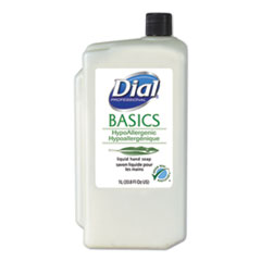 Basics Liquid Hand Soap, Fresh Floral, 1000mL Refill, 8/Carton