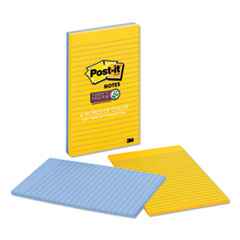 Pads in New York Colors, 5 x 8, 45-Sheet, 2/Pack