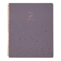 Workstyle Academic Planner, 11 x 8 1/2, Gray, 2019-2020