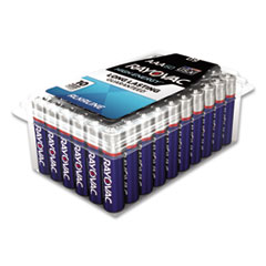 Alkaline Battery, AA, 60/Pack