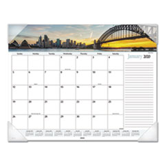 Harbor Views Panoramic Desk Pad, 22 x 17, Harbor Views, 2021