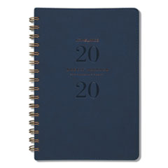 Signature Collection Firenze Navy Weekly/Monthly Planner, 5 3/8 x 8 1/2, 2019