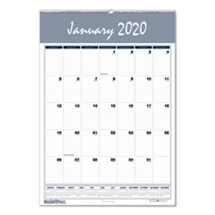 Recycled Bar Harbor Wirebound Monthly Wall Calendar, 22 x 31 1/4, 2019