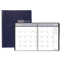 Recycled Ruled Monthly Planner, 14-Month Dec.-Jan., 11 x 8 1/2, Blue, 2019-2021