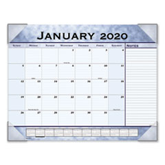 Slate Blue Desk Pad, 22 x 17, Slate Blue , 2020