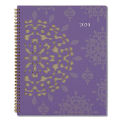 Vienna Weekly/Monthly Appointment Book, 11 x 8.5, Purple, 2021