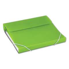 "DUO 2-in-1 Binder Organizer, 3 Rings, 1"" Capacity, 11 x 8.5, Green"