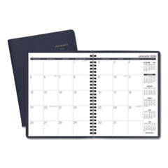Monthly Planner, 8 3/4 x 6 7/8, Navy, 2020