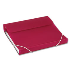 "DUO 2-in-1 Binder Organizer, 3 Rings, 1"" Capacity, 11 x 8.5, Hot Pink"