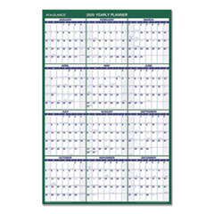 Vertical Erasable Wall Planner, 24 x 36, 2020