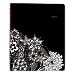 Floradoodle Professional Weekly/Monthly Planner, 11 x 8 1/2, 2020-2021