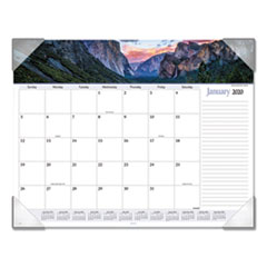 Landscape Panoramic Desk Pad, 22 x 17, Landscapes, 2020