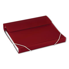 "DUO 2-in-1 Binder Organizer, 3 Rings, 1"" Capacity, 11 x 8.5, Burgundy"
