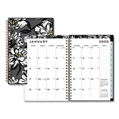 Baccara Dark CYO Weekly/Monthly Planner, 8 x 5, 2020