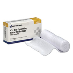"1First Aid Conforming Gauze Bandage, 4"" wide"